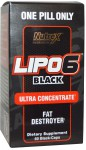 NUTREX Lipo6 Black Ultra Concentrate 60 kap.