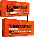OLIMP L-Carnitine 1500 120 kap. + Thermo Speed 120 kap.