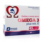 OLIMP Omega 3 Plus Wit. E 120 kap.