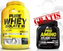 OLIMP Pure Whey Isolate 95 2200 g + Pro Amino Xplode 360 g